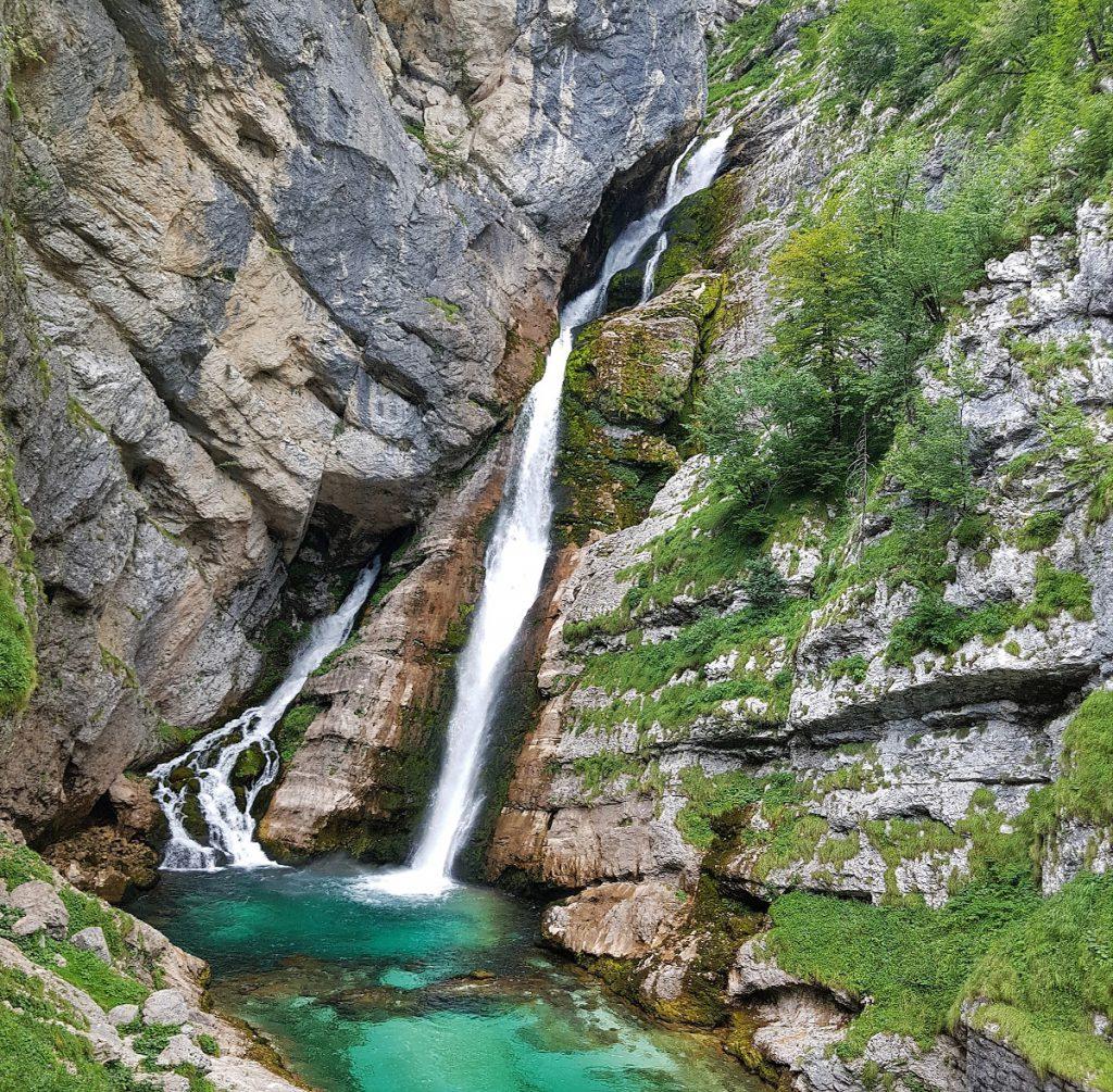 savica waterval slovenie